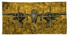 Northrop P-61 Black Widow Bath Towel