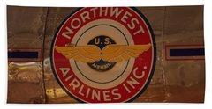 Northwest Airlines 1 Bath Towel