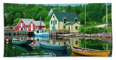 Northwest Cove, Nova Scotia, Canada Bath Towel