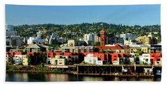 Northwest Portland Bath Towel