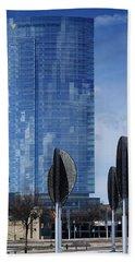 Northwestern Mutual Tower - Milwaukee Wisconsin 2017 Hand Towel