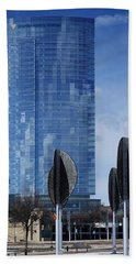Northwestern Mutual Tower - Milwaukee Wisconsin 2017 Bath Towel
