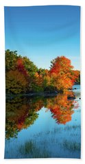 Northwood Lake Autumn Hand Towel
