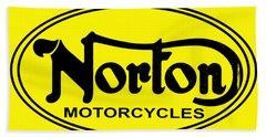 Norton Motorcycles Hand Towel