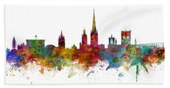 Norwich England Skyline Panoramic Hand Towel