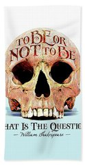 Not To Be Hand Towel by Gary Grayson