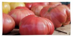 Nothing Says Summer Like Vine Ripe Tomatoes Bath Towel