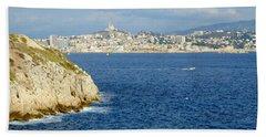Notre Dame De La Garde Marseille  Bath Towel