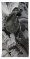 Notre Dame Gargoyle Grotesque Hand Towel