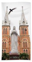Notre Dame Ho Chi Minh City Hand Towel