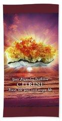 November Birthstone Citrine Hand Towel
