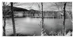 November On West Lake Hand Towel by David Patterson
