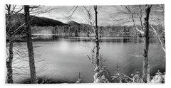 November On West Lake Bath Towel by David Patterson