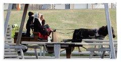 November Pony Cart Fun Bath Towel