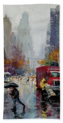 November Rain Bath Towel