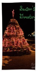 Nubble Light - Season's Greetings Bath Towel