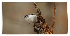 Nuthatch 2 Bath Towel