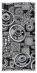 Nuts And Bolts Hand Towel