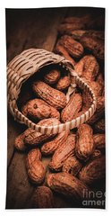 Nuts Still Life Food Photography Hand Towel