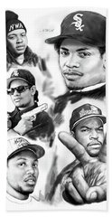 N.w.a. Drawing Art Poster Hand Towel