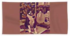Nyc Bodega Cat Hand Towel
