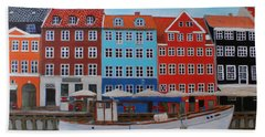 Nyhavn Copenhagen Bath Towel