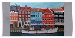 Nyhavn Copenhagen Hand Towel
