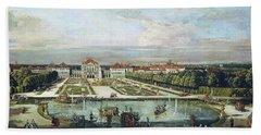 Nymphenburg Palace, Munich Bath Towel