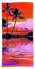 Oahu Island Bath Towel