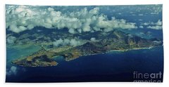 Oahu's South Shore Hand Towel by Craig Wood