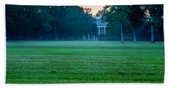 Bath Towel featuring the photograph Oak Alley Plantation In Profile by Chris Coffee