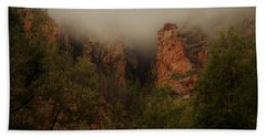 Oak Creek Canyon Arizona Bath Towel