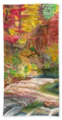 Oak Creek West Fork Bath Towel