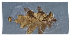 Oak On Ice Hand Towel