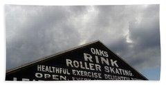 Oaks Skating Rink Bath Towel