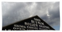 Oaks Skating Rink Hand Towel