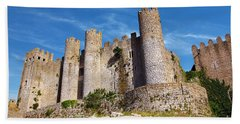 Obidos Castle Bath Towel