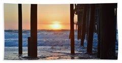 Obx Sunrise 6/18/16 Hand Towel