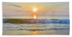 Obx Sunrise 7/22/17 Hand Towel