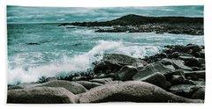 Ocean Blue Granville Harbour Hand Towel