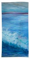 Ocean Blue Hand Towel