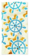 Ocean Circles Hand Towel