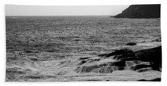 Ocean Drive Hand Towel by Greg DeBeck