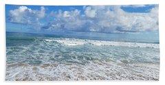 Ocean Foam Hand Towel