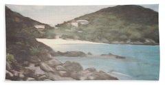Ocean Inlet Landscape Bath Towel