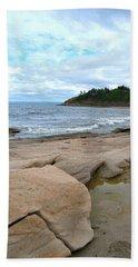 Ocean Rocks - Nova Scotia Hand Towel