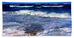 Ocean Scene In Abstract 14 Bath Towel