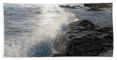 Ocean Splash Hand Towel