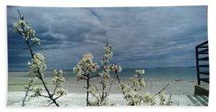 Ocean Spring Bath Towel by Robert Nickologianis