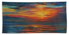 Ocean Sunrise Hand Towel